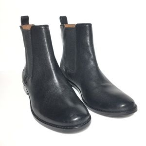 Frye Anna Chelsea Boots Black Size 8.5 New